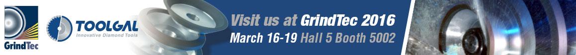 Visit us at GrindTec 2016
